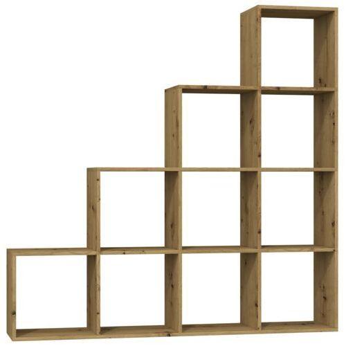 Regał komorowy Play T 4x4 Dąb artisan