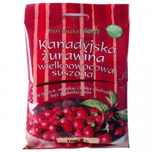 Viands Żurawina w całości suszona, lekko słodzona 100g - produkt z kategorii- Warzywa i owoce