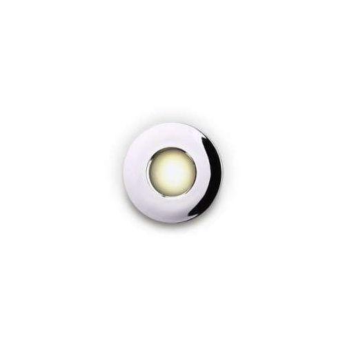 Maxlight h0045 oczko lampa oprawa wpuszczana downlight 1x35w gu5.3 12v chrom ip65