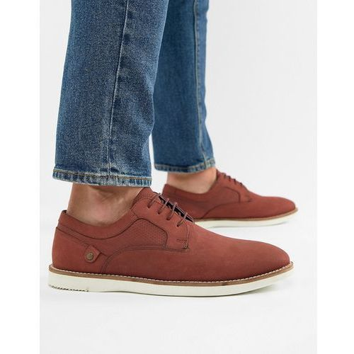 holker casual lace up shoes in burgundy - red marki Red tape