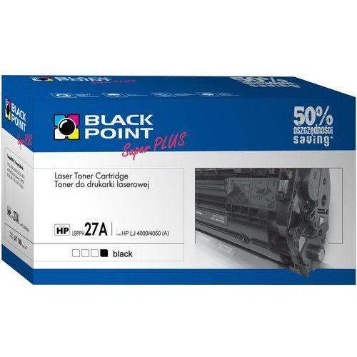 Toner BLACK POINT LBPPH27A Czarny + DARMOWY TRANSPORT! (5907625606424)