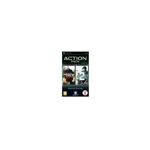 Tom Clancy's Splinter Cell: Essentials + Tom Clancy's Ghost Recon Advanced Warfighter 2 (PSP)