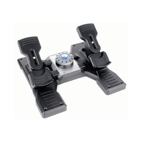 OKAZJA - Kontroler g saitek pro flight rudder pedals usb pedały + darmowy transport! marki Logitech