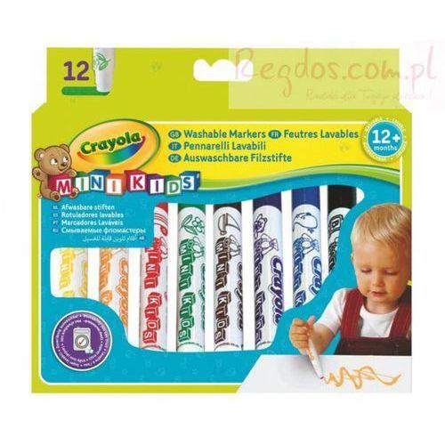 Crayola, Mini Kids, Kredki ołówkowe Jumbo, 8 szt., 8748