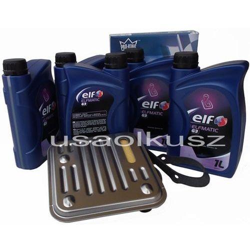 Filtr oraz olej ELF G3 automatycznej skrzyni 4SPD Chrysler Pacifica