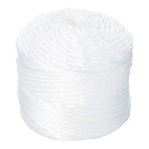 Sznurek polipropylenowy 2 5 mm x 80 m biały marki Diall