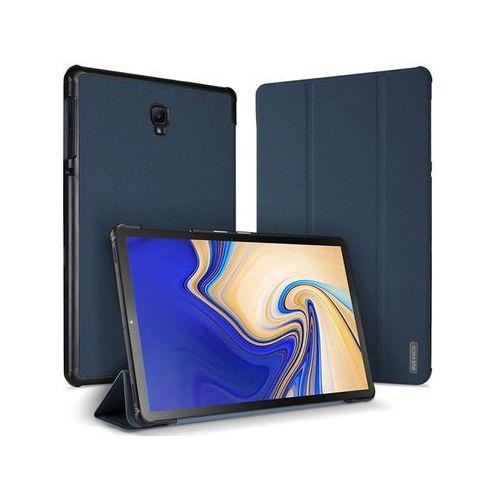 Etui Dux Ducis domo Samsung Galaxy Tab S4 10.5 Granatowe +Szkło Alogy - Granatowy, kolor niebieski
