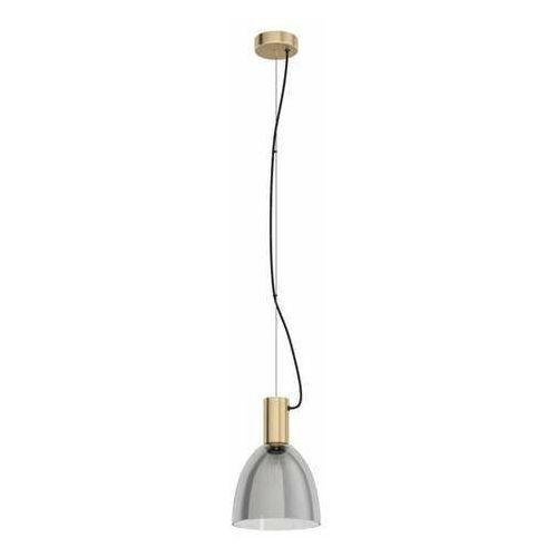 Eglo lebalio 99313 lampa wisząca zwis 1x40w e27 patynowa/czarna-transparentna