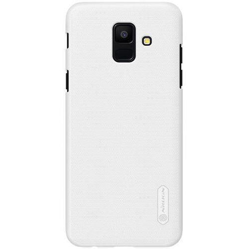 Nillkin Etui frosted shield samsung galaxy a6 2018 - white - white