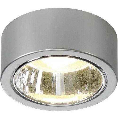 Slv Lampa sufitowa cl 101 112284, gx53, (Øxw) 14 cmx6 cm, szary