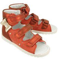 86803 st4 czerwony, obuwie profilaktyczne dziecięce; rozmiary: 27-32 - czerwony marki Bartek
