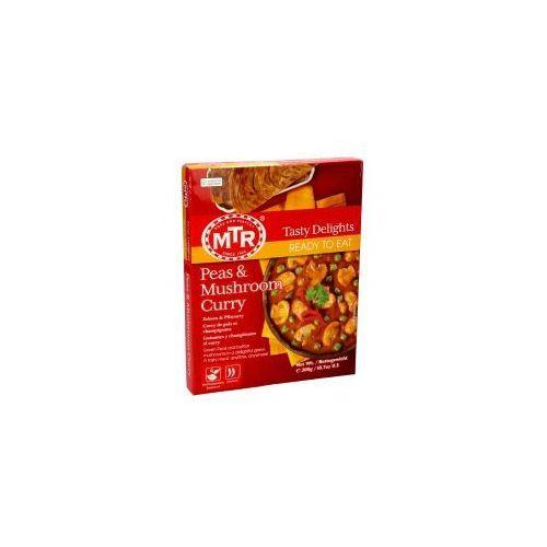 Peas & Mushroom Curry (Curry z groszku i peczarek) (8901042957562)