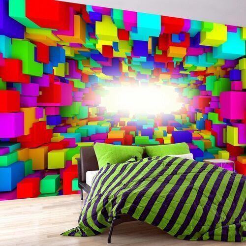 Fototapeta - światło w geometrii koloru