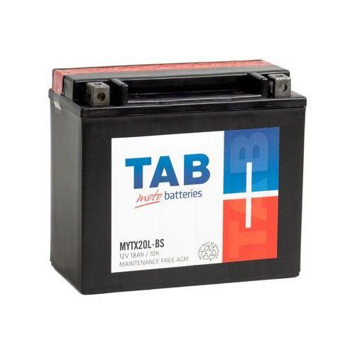 Tab Akumulator motocyklowy ytx20l-bs (mytx20l-bs) 12v 18ah 240a p+