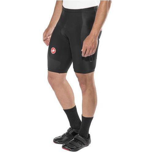 Castelli evoluzione 2 spodnie rowerowe mężczyźni czarny l 2018 spodnie szosowe (8055688381851)