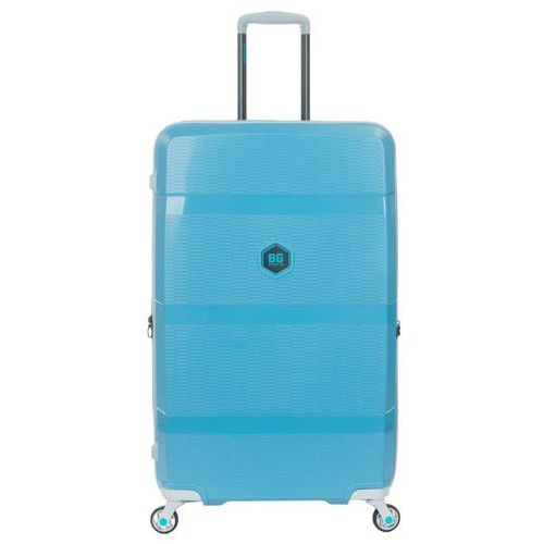 zip2 walizka duża poszerzana antywłamaniowa 81 cm / hip hop blue - hip hop blue marki Bg berlin