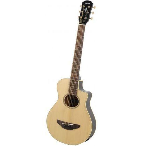 apx t2 gitara elektroakustyczna 3/4 (580mm), natural marki Yamaha
