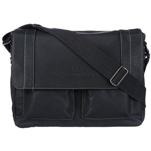 acc mężczyzn torebki na ramię 39 x 28 x 13 cm (szer. x wys. x głęb.) - czarny - marki Tom tailor