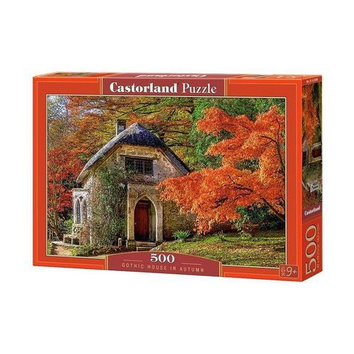 Puzzle Gothic House in Autumn 500 - Castor, AM_5904438052806