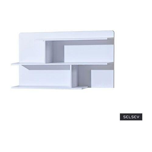 SELSEY Półka na książki Dobie 110 cm biała (5903025586373)