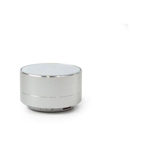 Głośnik bluetooth 3W - Forever PBS-100 z radiem i mikrofonem - srebrny