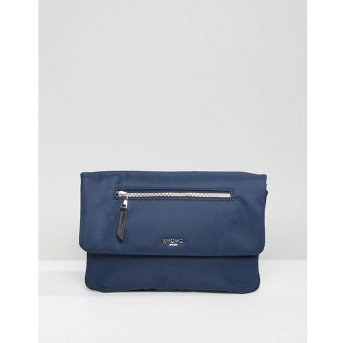 elektronista 10 inch water resistant clutch bag with portable phone and tablet charger - navy marki Knomo
