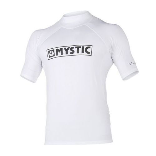Mystic star rashvest s/s (white) 2018