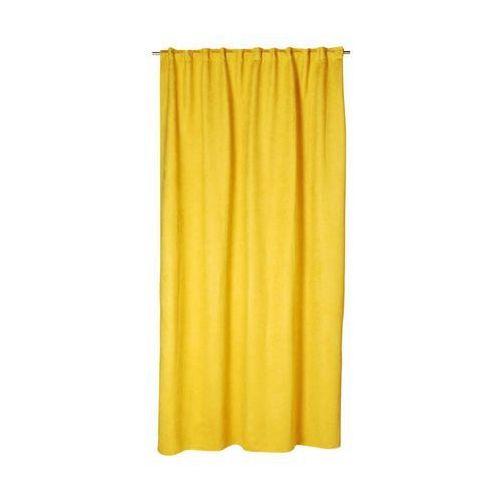 Inspire Zasłona manchester żółta 200 x 280 cm na taśmie