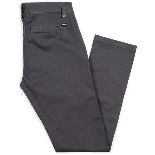 Spodnie - grain chino pant washed black (wablk) marki Brixton