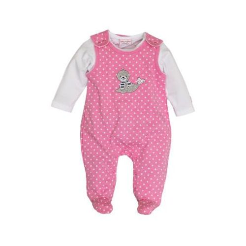 SALT AND PEPPER Baby Glück Girls Śpioszki Foka candy pink (4054432741495)