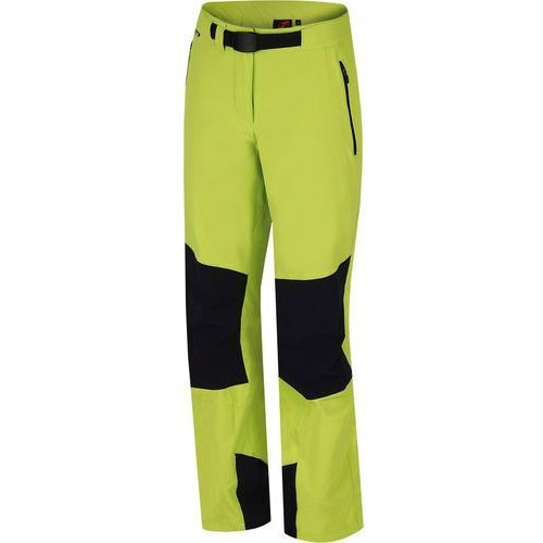 Hannah  spodnie turystyczne messi lime punch/anthracite 38
