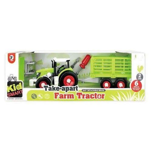 Traktor z przyczepą do skręcania (6901440106618)