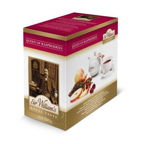 Sir william's Herbata royal taste queen of raspberries 50 (5903240323142)