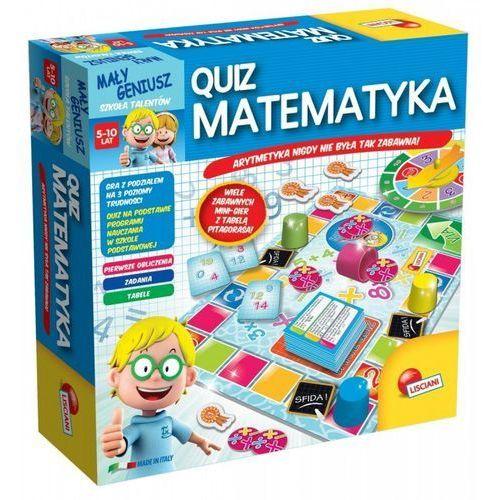 Liscianigiochi Mały geniusz, quiz - matematyka (8008324054381)
