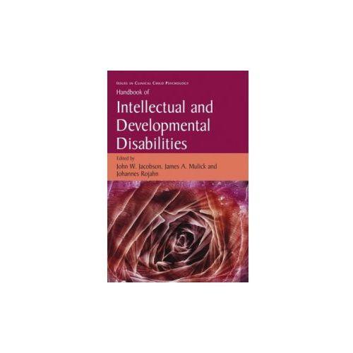 Handbook of Intellectual and Developmental Disabilities (9780387887142)