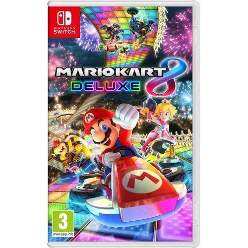 Gra switch mario kart 8 deluxe + zamów z dostawą jutro! + darmowy transport! marki Nintendo