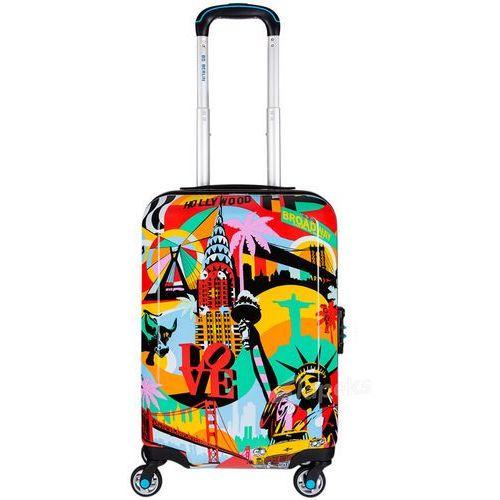 Bg berlin lobo mała walizka kabinowa na 4 kółkach / american way - american way (6906053048164)