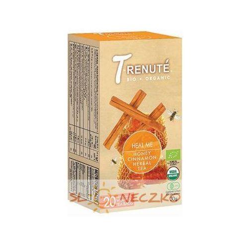 Wyprzedaż! 30.05.2018r Herbatka cynamonowa o smaku miodu HEAL ME BIO 30 g (1,5 g x 20 szt.) - T'RENUTE, 4792038700293