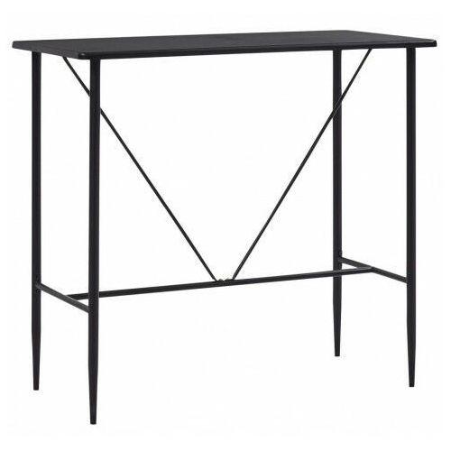 Elior Czarny stolik barowy 60x120 – charlen