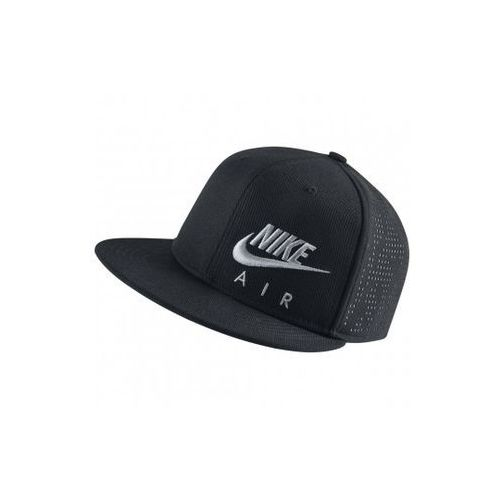 Nike Performance AIR HYBRID TRUE Czapka z daszkiem black/wolf grey - sprawdź w wybranym sklepie