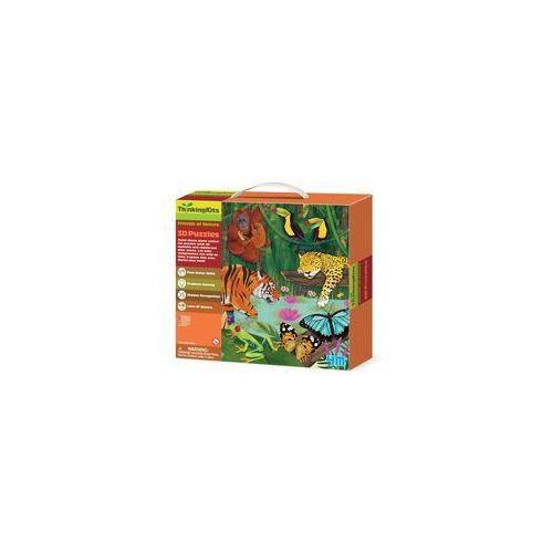 Puzzle 3d - dżungla marki 4m