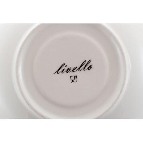 2 filiżanki z porcelany na prezent amerykańskie marki Livello