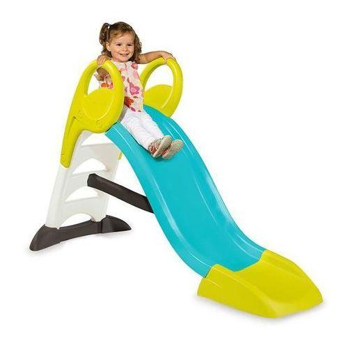 zjeżdżalnia my slide 150cm niebieska marki Smoby