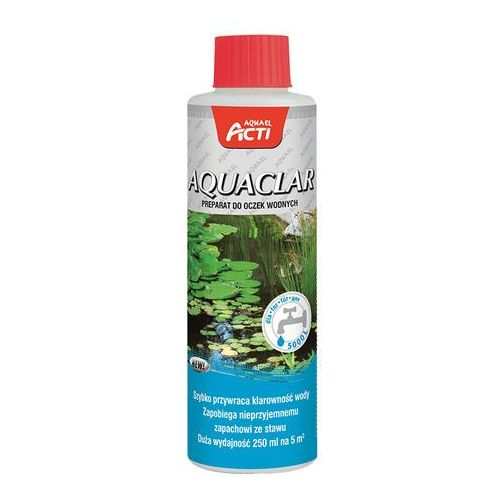 AQUAEL Acti Pond Aquaclar 250 ml - DARMOWA DOSTAWA OD 95 ZŁ! (5905546196925)