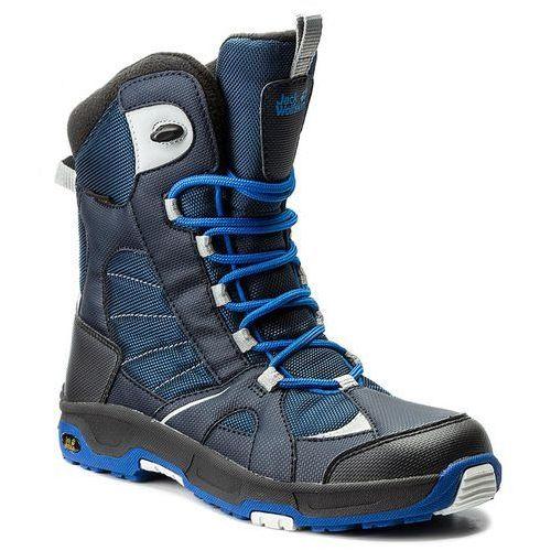 Jack wolfskin Śniegowce - boys snow ride texapore 4012042-1615360 vibrant blue d