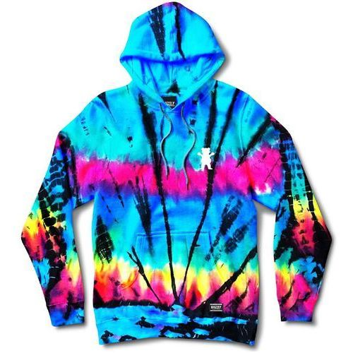Grizzly Bluza - above the clouds hoodie tie dye (tdye) rozmiar: l