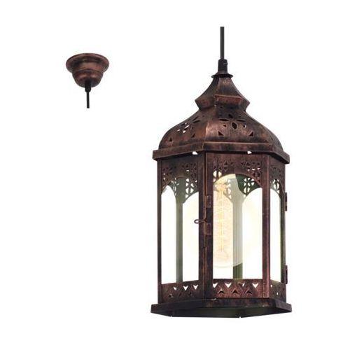 Eglo Lampa wisząca 1x60w e27 redford1 49224