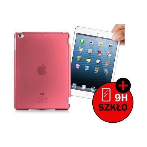 Przezroczyste etui back cover do apple ipad mini 4 - różowy marki 4kom.pl