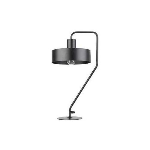 Sigma Stojąca lampka gabinetowa vasco 50118 metalowa lampa stołowa czarna (5902846813323)