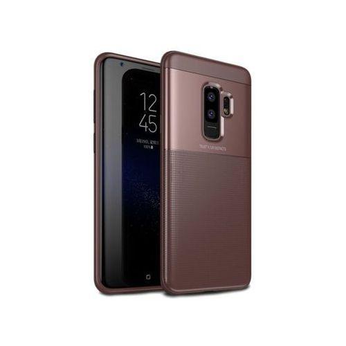 Etui Alogy Toraise Samsung Galaxy S9+ Plus brązowe - Brązowy